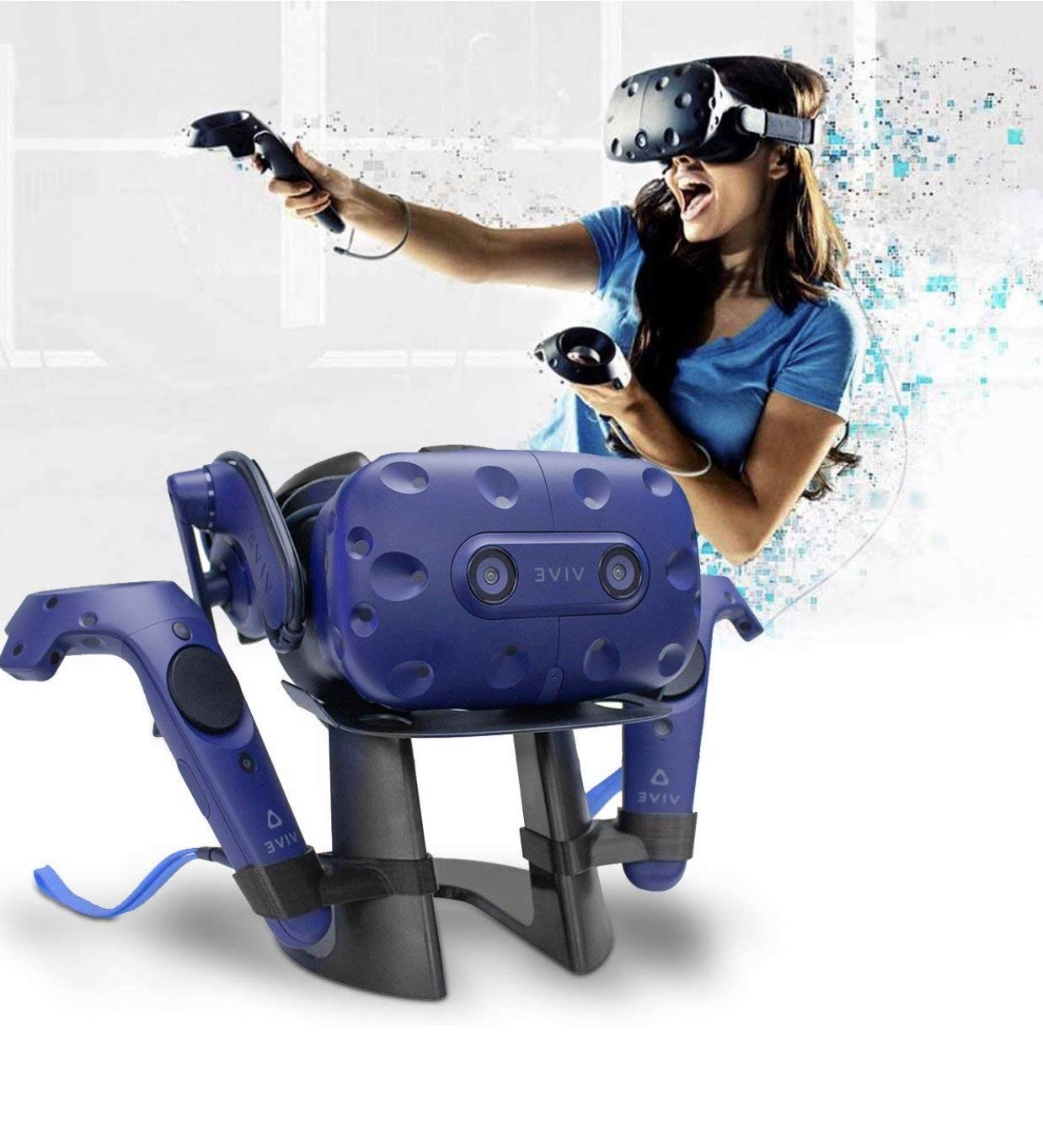 MBstand - Headset and Controller Stand for both the HTC Vive and HTC Vive Pro