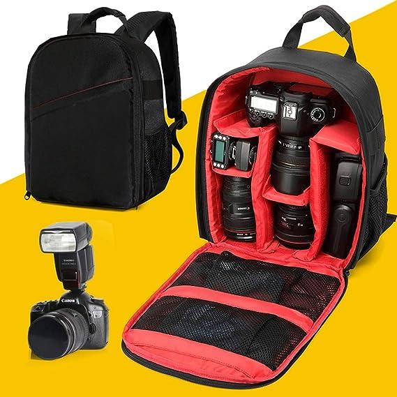 Samsung Apple Huawei Yhuisen DL-B027 Portable Waterproof Scratch-Proof Outdoor Sports Backpack SLR Camera Bag Phone Bag for GoPro Nikon Canon Color : Orange