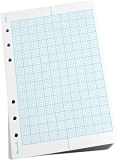 """product image for Rite in the Rain Weatherproof Loose Leaf Paper, 4 5/8"""" x 7"""", 32# White, Metric Field Pattern, 100 Sheet Pack (No. 362)"""