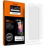 Spigen LG G6 Screen Protector Tempered Glass / 2 Pack / 9H Hardness / Case Friendly for LG G6
