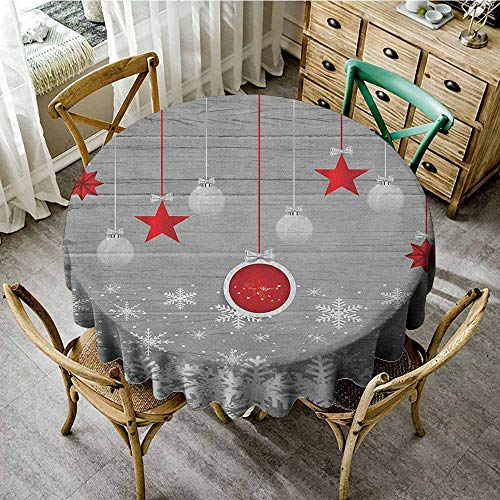 Rank-T Round Tablecloth Square Vinyl 35
