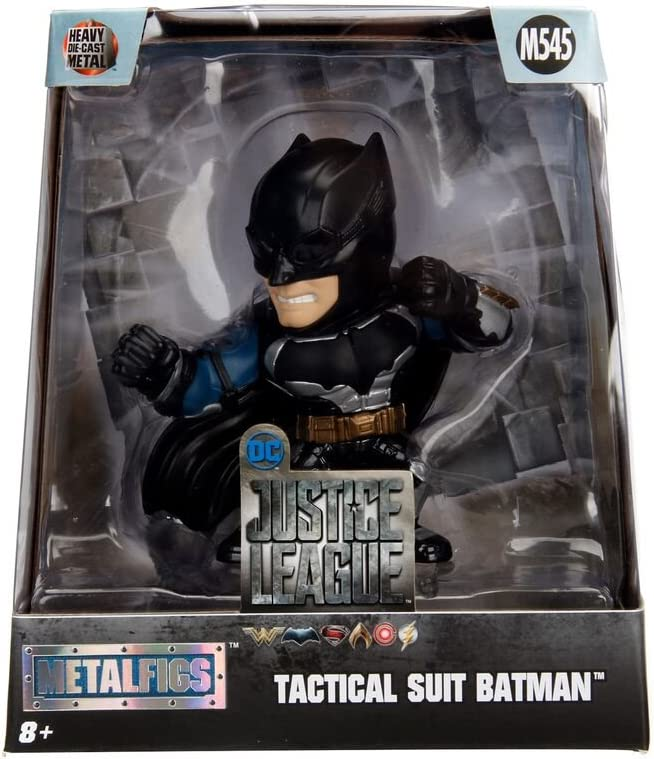 "Jada Toys 4/"" Metals Justice League Diecast Figure 99169 Tactical Suit Batman"