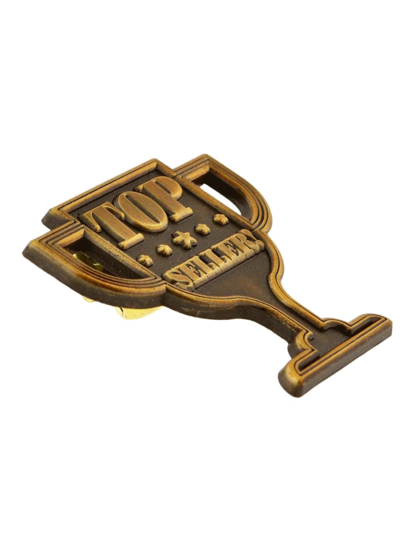 PinMart Antique Gold Trophy Recognition Corporate Lapel Pin