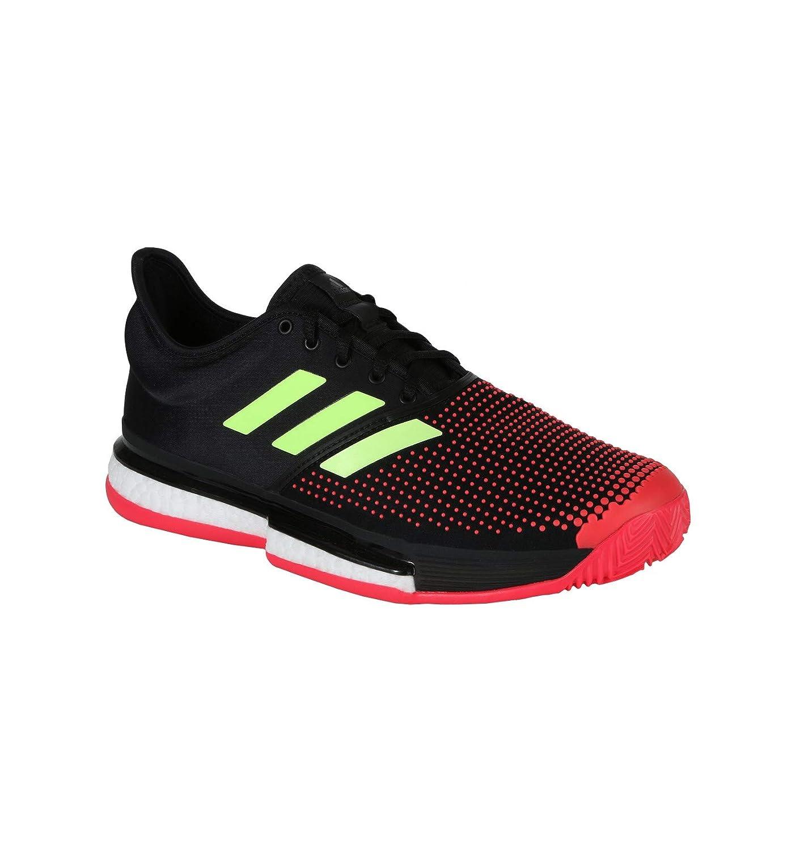 MultiCouleure (MultiCouleur 000) 47 1 3 EU adidas Solecourt Boost M Clay, Chaussures de Tennis Homme