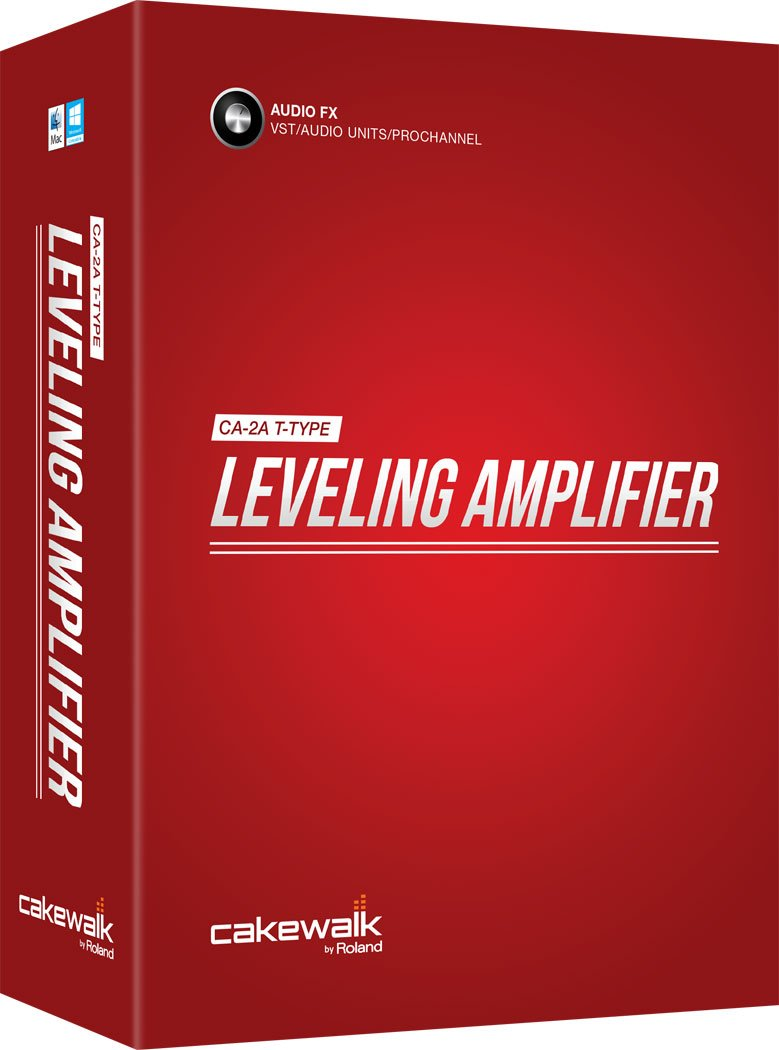 Cakewalk CA2A T-Type Leveling Amplifier Software Effect Plug-in [VST/AU/PC] by Cakewalk