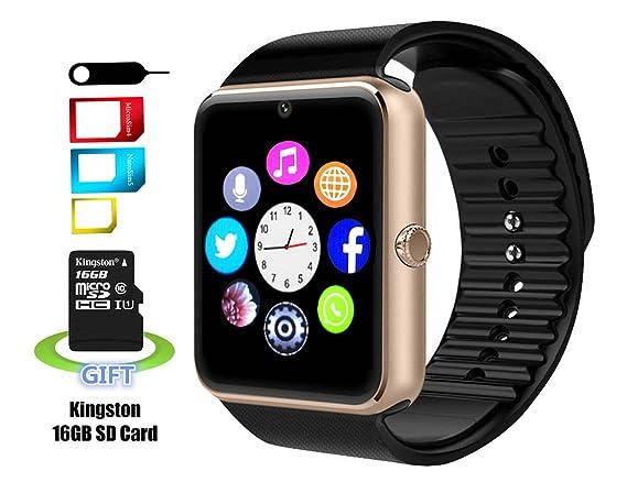 Amazon.com: Smart Watch Mrs largo YG8 Sweatproof Reloj de ...