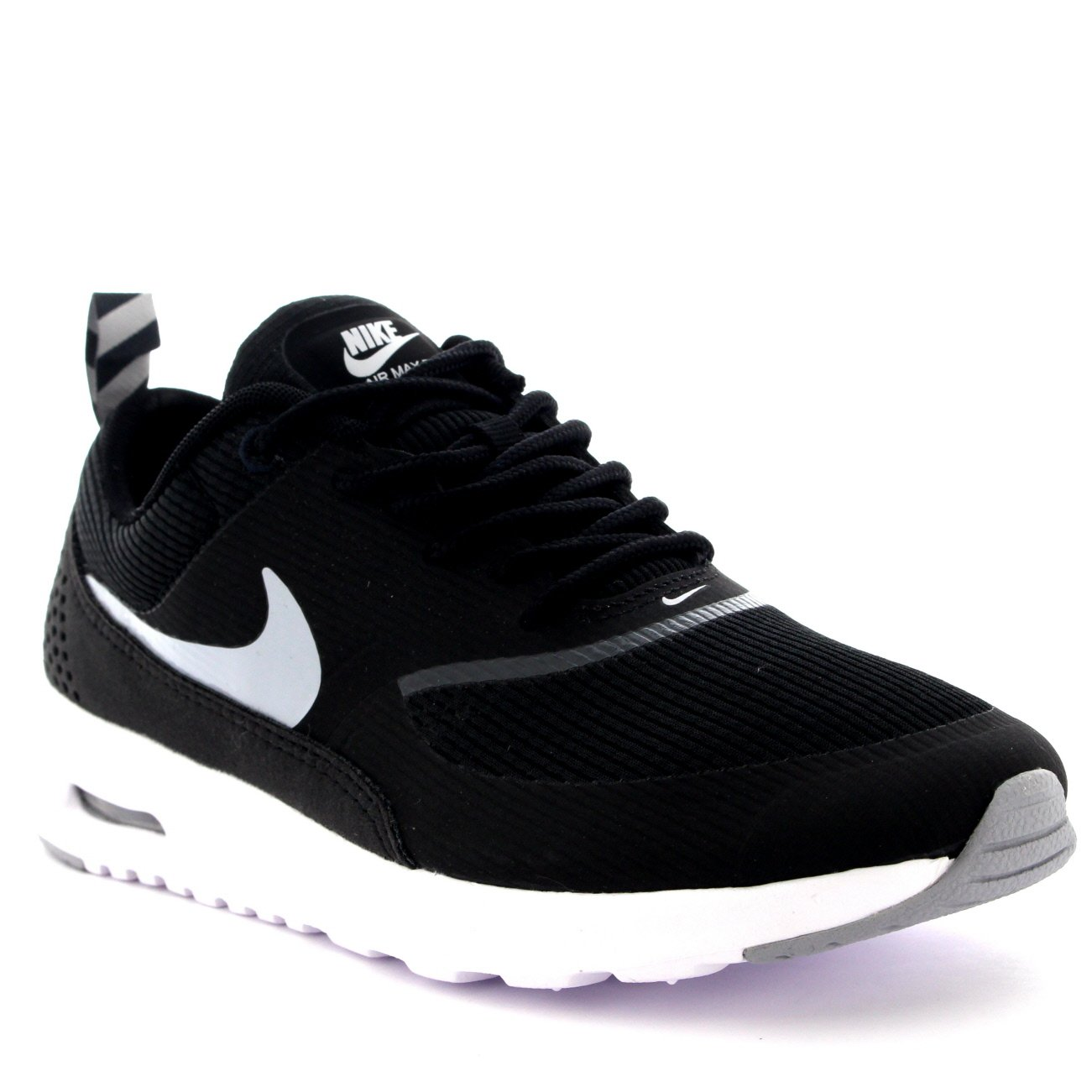 NIKE Air Max Thea Women Sneakers BlackAnthraciteWhiteWolf Grey 599409 007 (Size: 7.5)
