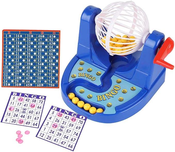 TOYANDONA 1 Pieza Juego de Jaula de Bingo, Juego de Bingo Divertido para Jugar para Niños: Amazon.es: Juguetes y juegos
