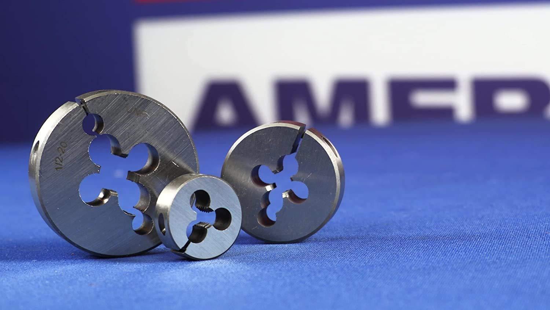 DWT Series Drill America m10 X.5 1 OD High Speed Steel Round Adjustable Die