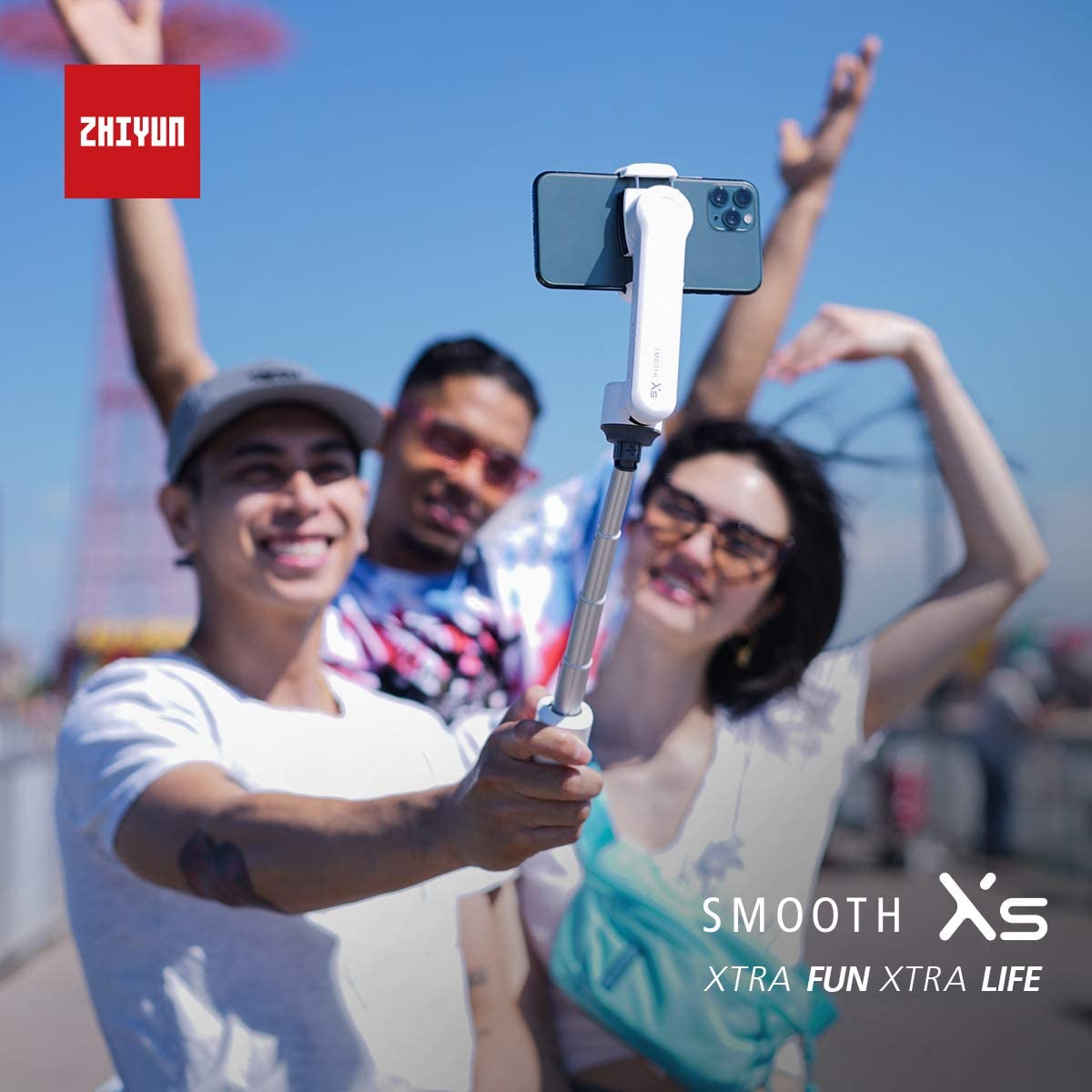 White Zhiyun Smooth-XS Gimbal Stabilizer