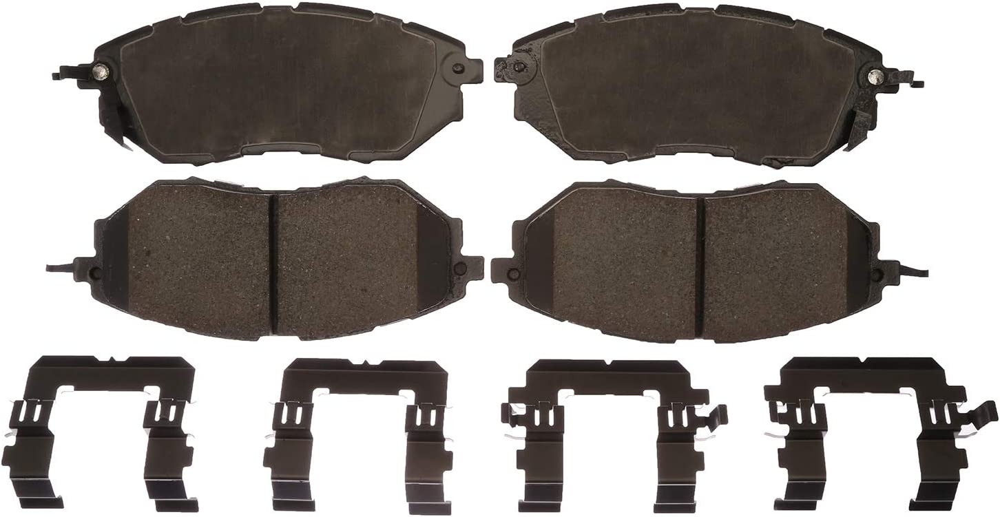 ACDelco Gold 17D1078CH Ceramic Front Disc Brake Pad Set