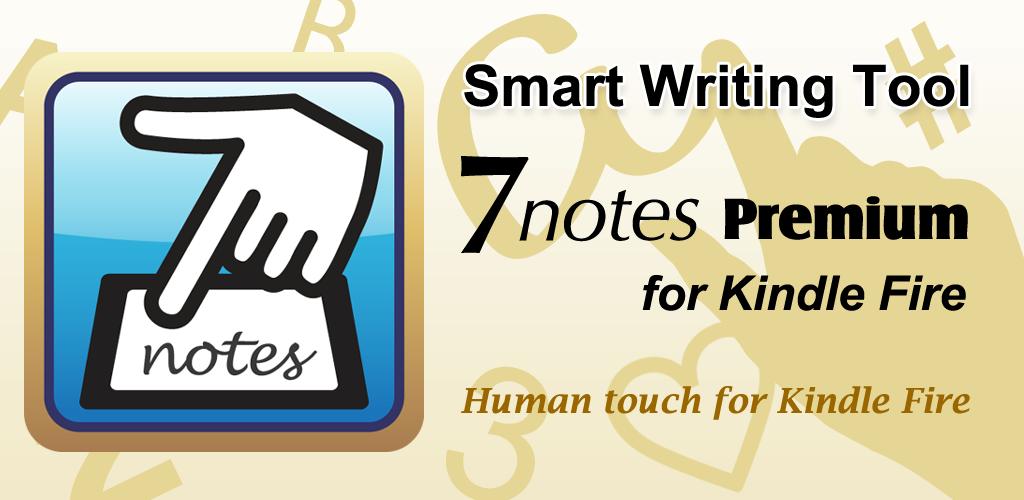 Amazon Smart Writing Tool 7notes Premium Kindle Tablet