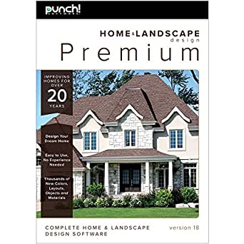 Punch home landscape design premium v18 download software for Punch home and landscape design premium