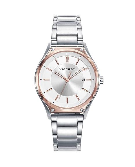 Reloj Viceroy Air_bpar Acero Bicolor Mujer 471192-07: Amazon ...