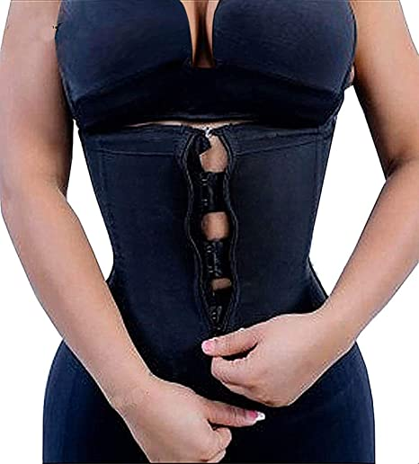 Details about  /YIANNA Women/'s Underbust Latex Sport Girdle Waist Trainer Corsets Hourglass Body