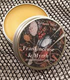 Frankincense & Myrrh Perfume Solid, Perfume Balm, 1 oz, Aromatherapy, Essential Oil, Natural Perfume, Perfume Gifts, Artisan Perfume