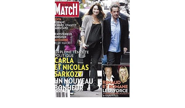Paris Match French Magazine October 6 2011 Nicolas Sarkozy Paris Match Amazon Com Books