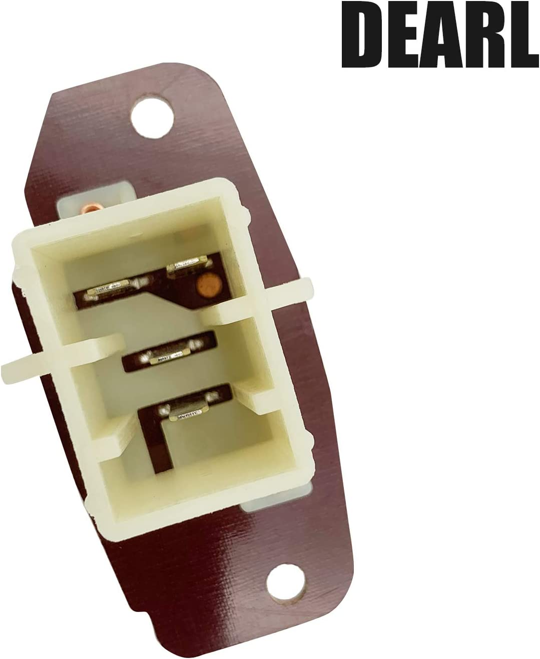 87-97 F-150 F-250 F-350 F150 F250 F350 JA1176 Front HVAC Blower Motor Resistor 4 Terminal compatible with 03-14 E-150 E-250 E150 E250 01-05 Excursion 01-14 E-350 E350 Super Duty