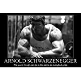bribase shop Arnold Schwarzenegger Poster 36x24 Inch
