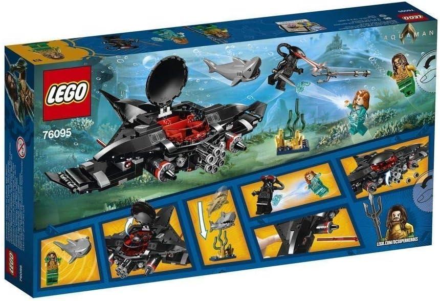 235 Pcs LEGO 76095 Aquaman Black Manta Strike