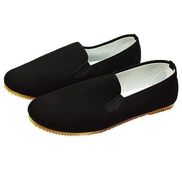 DerShogun Kung Fu Schuhe mit heller Gummisohle  Amazon.de  Schuhe ... 9a42c7e836