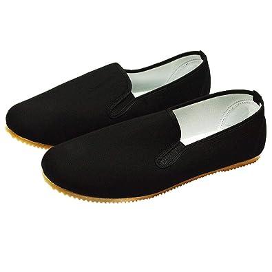 Kung Fu Zapatos con suela de goma clara: Amazon.es: Deportes y aire libre