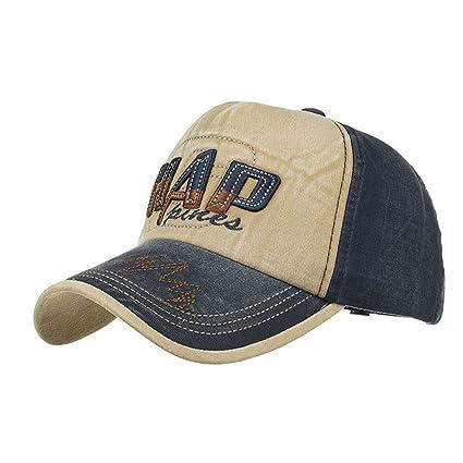 LMMVP Algodón Gorra de Béisbol -Unisex Gorros del Camionero para Hombre y  Mujer - al 8939e8f4beff