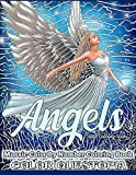 Angels Mosaic Color By Number Coloring Book - Adult