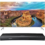 Samsung 65-Inch 4K SUHD Smart HDR 1000 LED TV - KS8000 8-Series (UN65KS8000FXZA) with Samsung 3D Wi-Fi 4K Ultra HD Blu-ray Disc Player