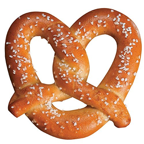 J and J Snack Super Baked Soft Pretzel, 2.5 Ounce - 100 per case. by J and J Snack Foods