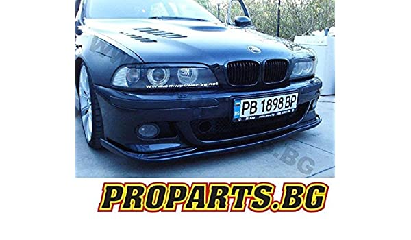 BMW E39 M Paquete de M5 frontal Alerón Frontal Enfoque Alerón Espada Alerón Labio: Amazon.es: Coche y moto