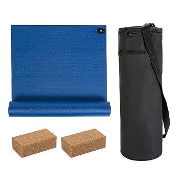 Yoga Studio Eco Kit Bag Kit - 6mm Mat: Amazon.es: Deportes y ...