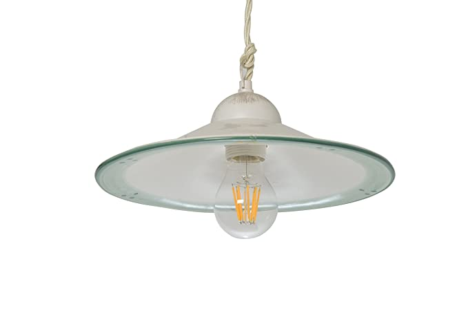 Plafoniere Industriali Diametro 30 : Vanni lampadari lampada a sospensione piatto liscio diametro