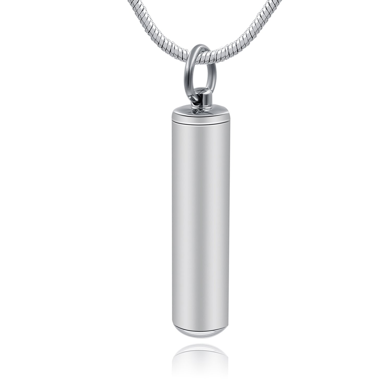 Hufan Cylinder Memorial Jewelry for Ashes Necklace