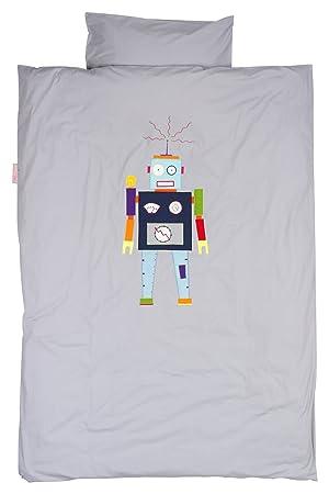 Taftan Dm 3910 Bettwäsche Robot 120 X 150 Cm Und 60 X 40 Cm