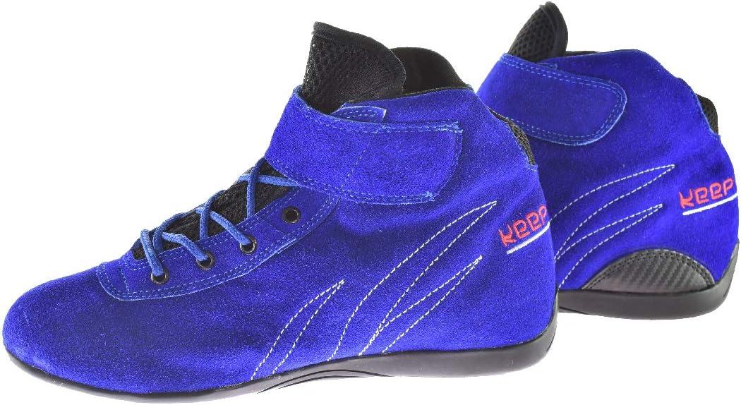 Modell Wings Gr/ö/ße 34-49 blau keep-racing Kartschuhe Motorsportschuhe