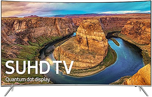 Samsung Curved 55-Inch 4K Smart LED TV UN55KS8500FXZA (2016)