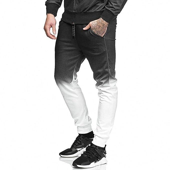 Pantalones para Hombres, ❀❀RETUROM 2018, Pantalones Deportivos de Deporte para Correr para Hombres de Moda: Amazon.es: Ropa y accesorios