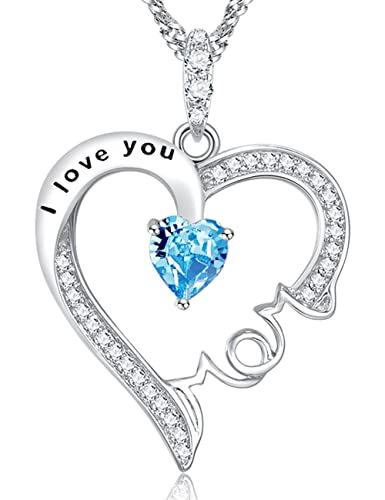 Amazon Com Valentine S Day Jewelry Gift For Her I Love You Mom