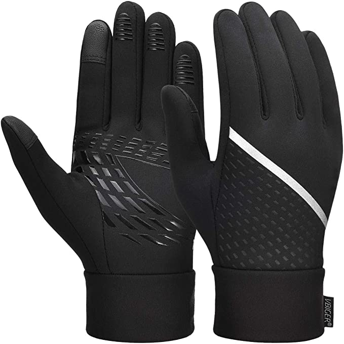 Best Cycling Gloves: Touch Screen Gloves Anti-slip Running Cycling Gloves