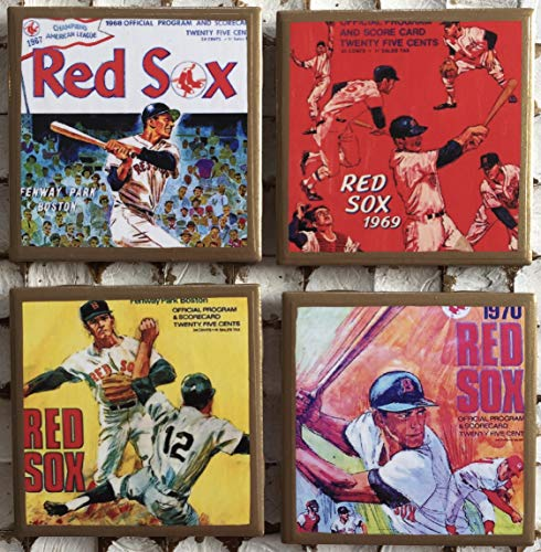 Red Sox Coasters - 7