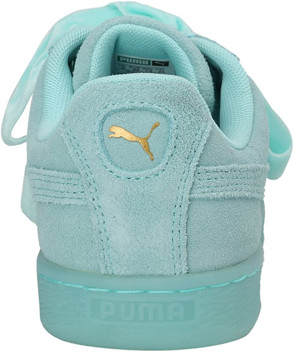 Puma Suede Heart Safari, Basket Mode Femme Multicolore