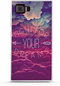 """Lenovo Vibe Z2 Case,Gift_Source Slim Thin Soft TPU Silicone Gel Rubber Anti-Scratch Shockproof Phone case Flexible Cute Clear Bumper Protective Cover for Lenovo Vibe Z2 (5.5"""") [Fight for Your Dreams]"""