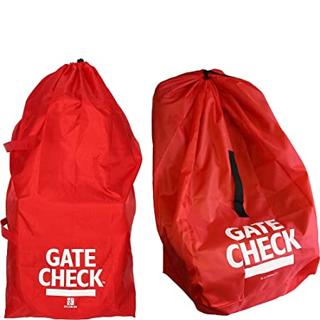 Amazon JL Childress Gate Check Bags For Standard Double Strollers And Car Seats Red Baby