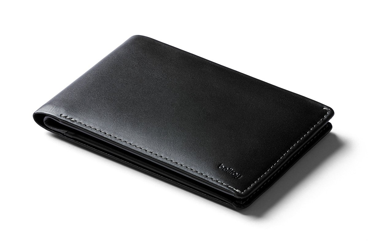 bottom price selected material luxuriant in design Bellroy Leather Travel Wallet - Black - RFID