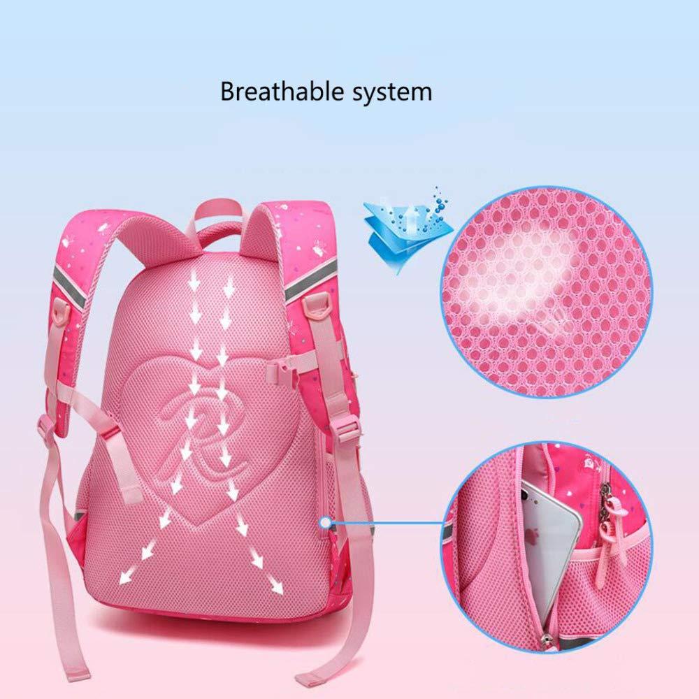 SEJNGF SEJNGF SEJNGF Kinder Schultasche 1-6 Grade Wasserdichte Große Rucksack Rucksack B07HQM2LZQ | Smart  74bc52