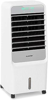 2 Modos: Normal y Modo Reposo 3 velocidades Ventilador KLARSTEIN Sonnendeck Ventilador 3 en 1 humidificador de Aire 65 W Corriente de hasta 888 m/³//h Blanco Enfriador de Aire