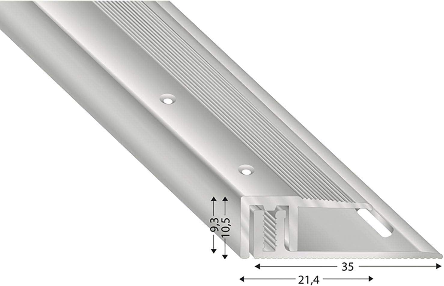 k/ügele Base cierre perfil 100/cm anodizado para suelos 7/ /15/mm STS21 SD 100