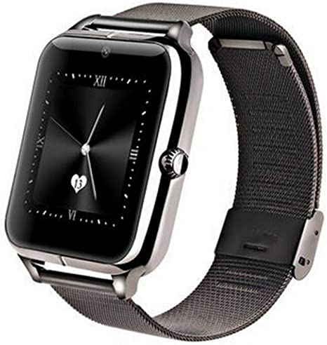TechComm Z50 Bluetooth & GSM Smartwatch Fitness Tracker with 0.3MP Camera for Android Only