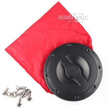 Durable Nylon 8 inch Kayak Marine Canoe Deck Plate Hatch Cover Accessories